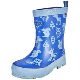 Viking Footwear Eventyr - Botas de agua Niños - azul